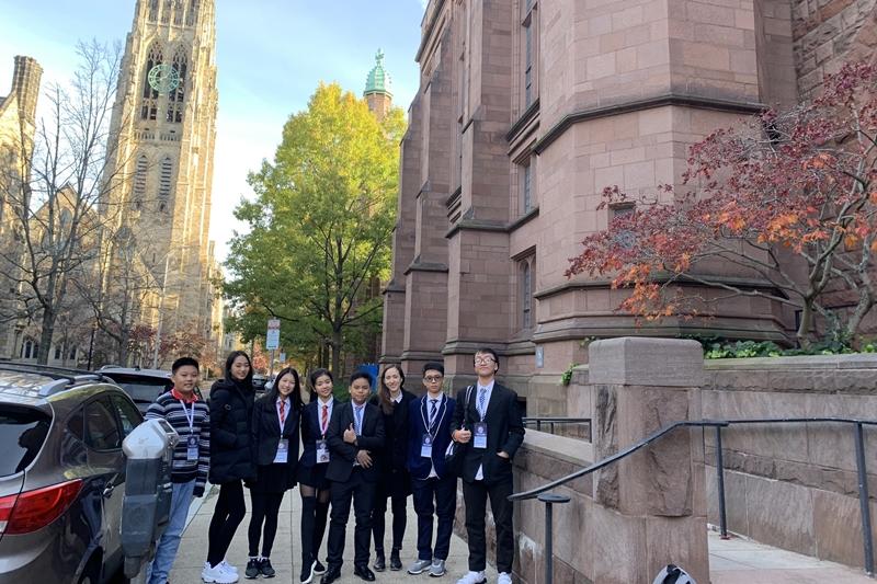 WASSers tham sự chung kết cuộc thi Hùng biện toàn cầu World Scholar's Cup 2019