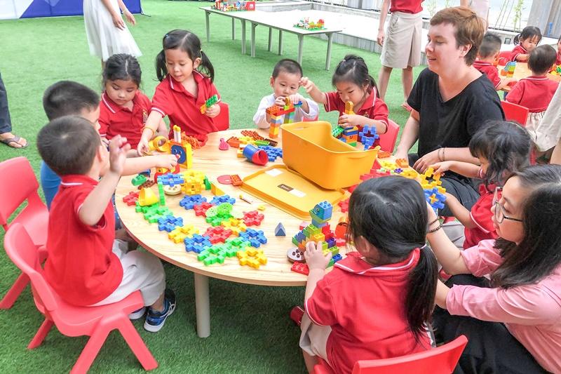 """Học sinh trường mầm non Tây Úc phát triển tư duy tại """"Ngày hội phát minh nhí"""""""