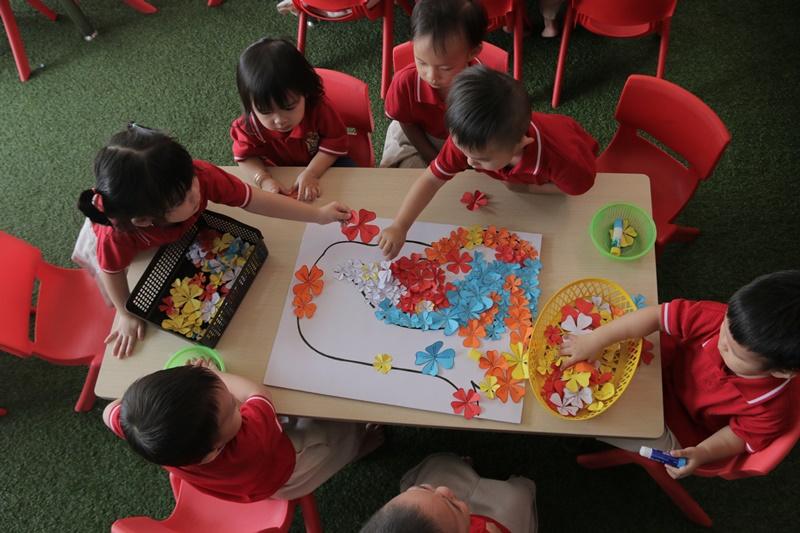 trường mầm non quốc tế tại tphcm giới thiệu mon năng khiếu cho trẻ phát triển toàn diện