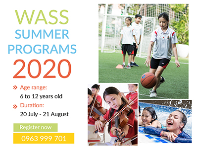 Exciting summer camp of WASS