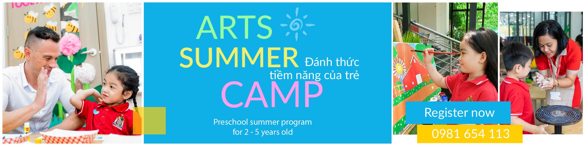 Banner Summer Camp Kindergarten 2020