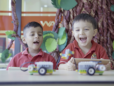 Technology for Kindergarten students: Opening the door to the wonderful world of science