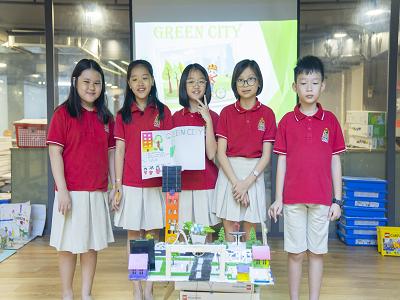 WASSers Xây dựng thành phố xanh với STEAM